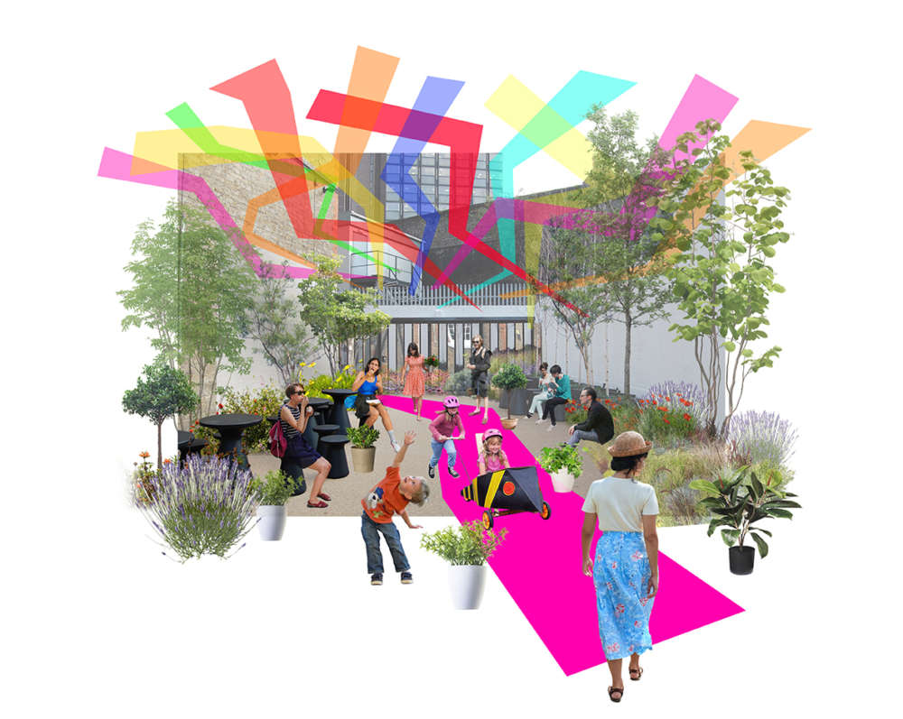 Pop Up Park for London Festival of Architecture 2019
