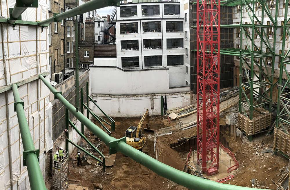 Progress on Regent Street