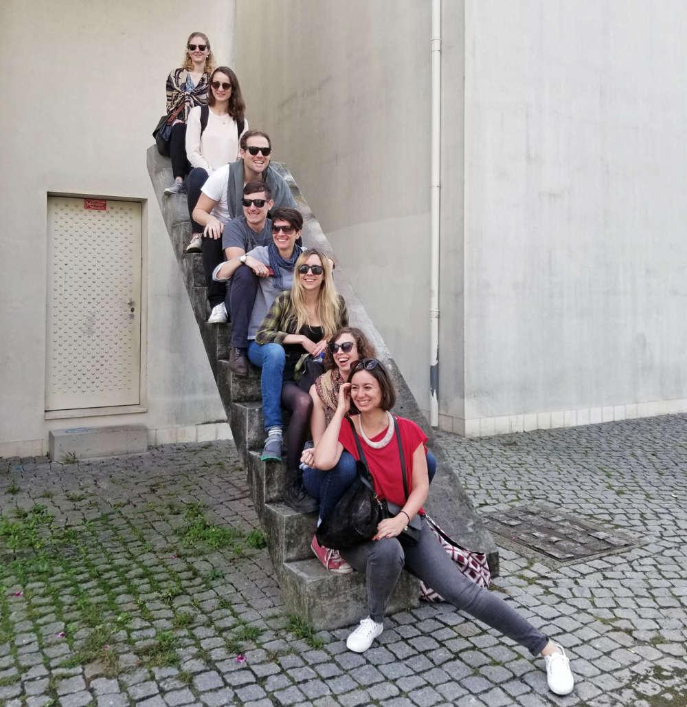 Office trip to Porto