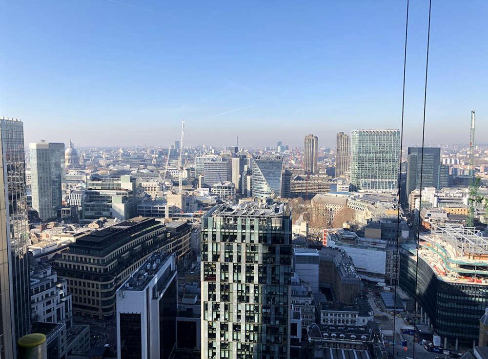 Views of London from Bishopsgate