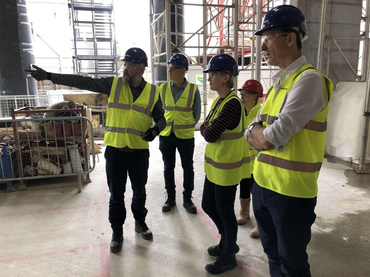 Directors visit to One Bishopsgate Plaza