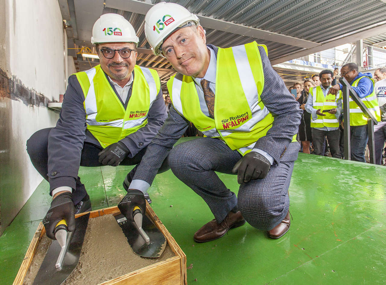 Knightsbridge Gate Topping Out