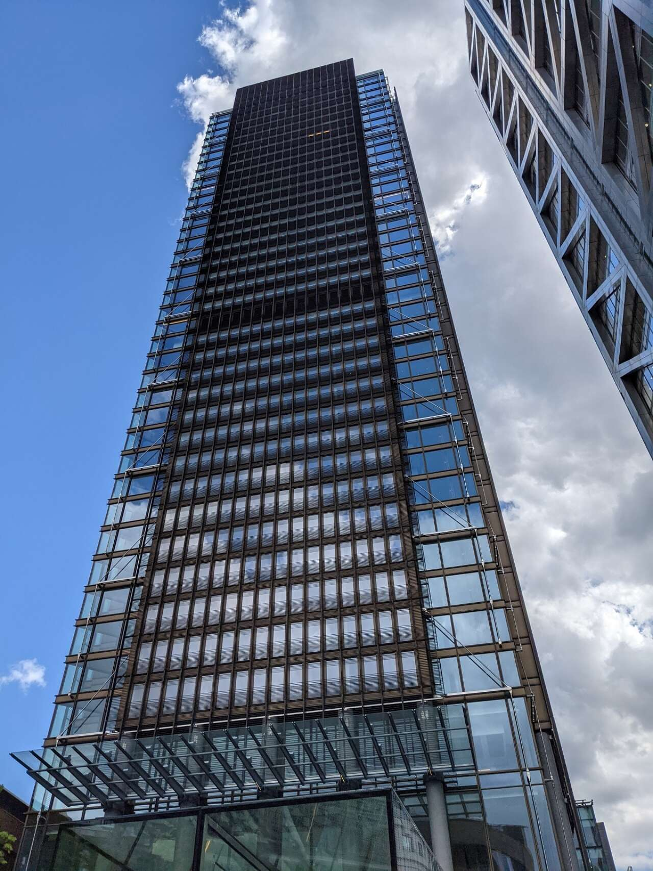 One Bishopsgate plaza reaches practical completion