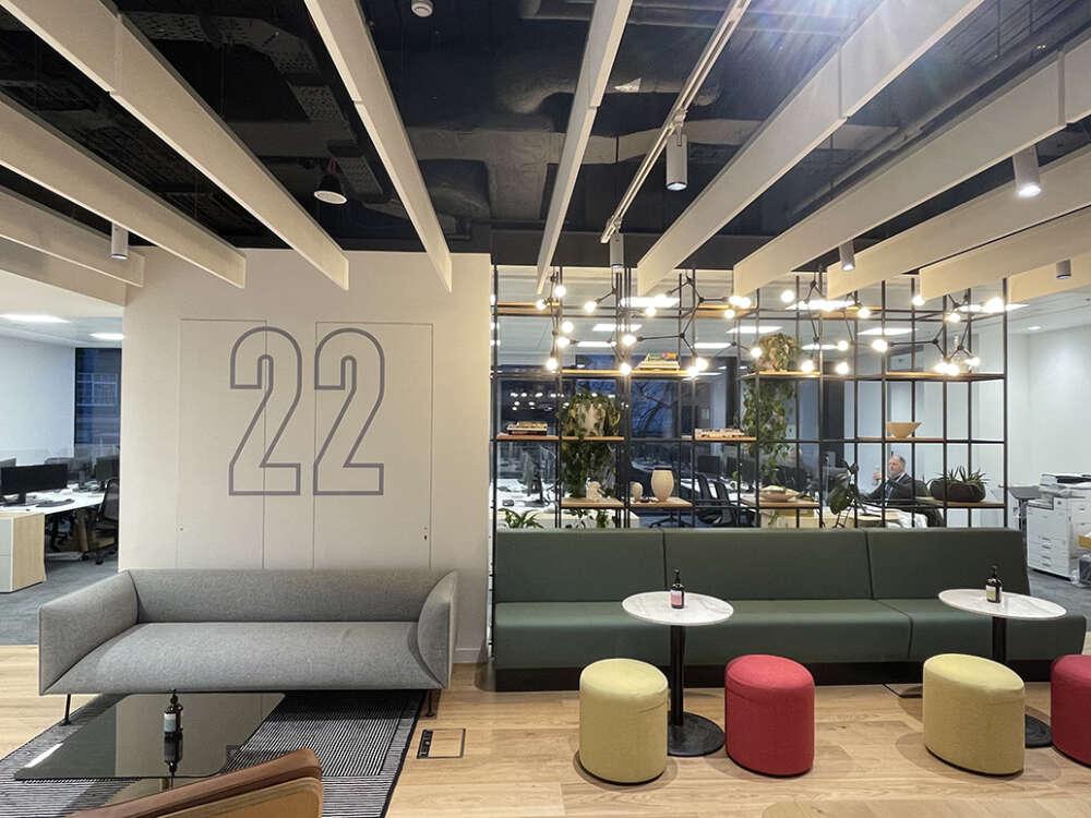 Workspace Complete at 22 Bishopsgate