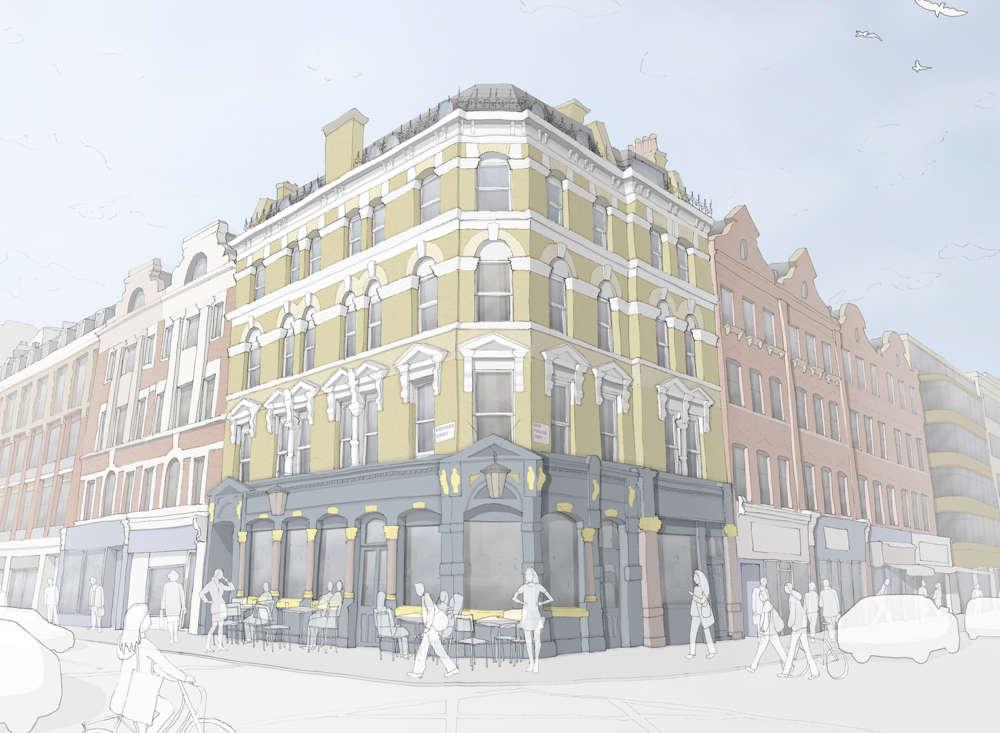 The George pub wins planning
