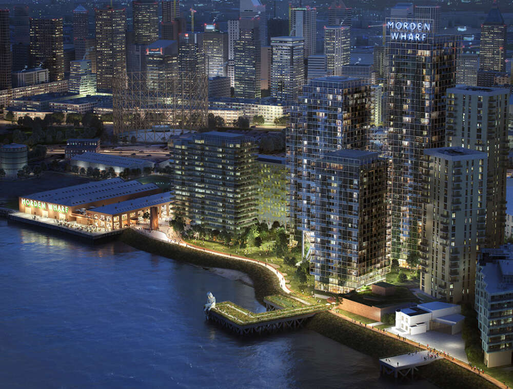 U+I's Morden Wharf Planning Submitted