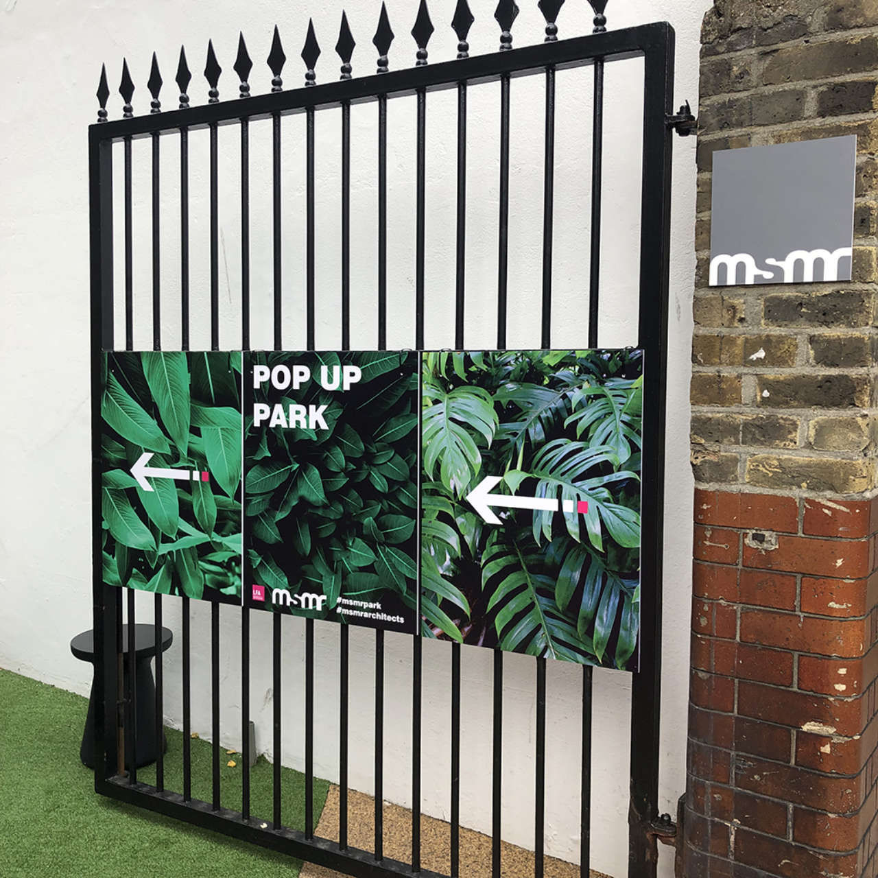 Pop-up Park Becomes Permanent