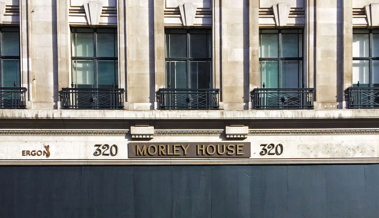 Morley House Topping Out